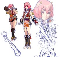 .OniGirl_OC Concept. by MadiBlitz