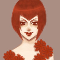 Madam Red . Revisited . by JPShieux