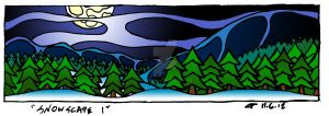 SDCYB Snowscape 01- Colored by veraukoion
