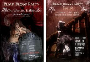 Black blood Party 8 and 9 by azurylipfe