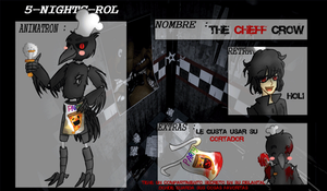 Fnaf-the-crow-cheff by FerzyPPGD