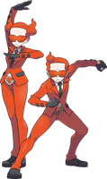 Team Flare Grunts by PokemonBrendan