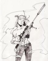 Tank Girl by ChrisJohnson1980