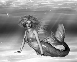 Mermaid by NaughtyGirlGraphics