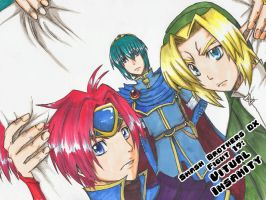 Manga Cover: Three Knights by jellyfishkingd