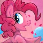 Square Series - Pinkie Pie II by sophiecabra