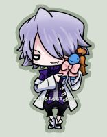 Xerxes Break Chibi commission by zelas