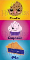 .:.Kawaii Food Part 3 - Super Sweet.:. by Berryblitzstudio