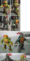 Teenage Mutant Ninja Turtles 1 (repaint) by drachenmagier
