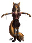 Furry Foxcat by Wither-Wood