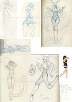 sketchdump march by SongThread