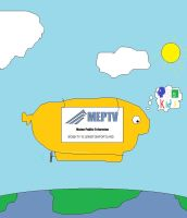 PBS Kids (MEPTV) ident - The Blimp fanart by BuddyBoy600