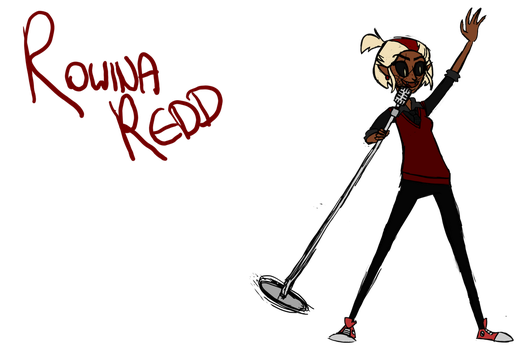 Rowina Redd Sheet by WitchyStella