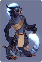 Commission for Sister-wolf by LiLaiRa