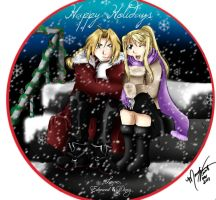 Happy Holidays from EdxWinry by SassyLilPanda