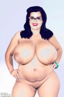 BBW Katy Perry by xmasterdavid