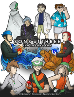 Commission: Sons of Three COVER by ky-nim