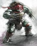 2014 movie TMNT Raphael by zibanitu6969