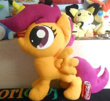 Lifesized Scootaloo Plush by NoxxBunny
