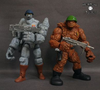 Granitor and General Traag by Discogod