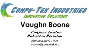 Vaughn Boone's Business Card by Last-Thylacine