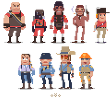 tf2 pixel by EunDari