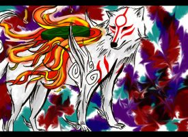Okami Contest entry by AngieElric