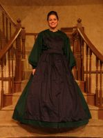 Little Women: Meg green dress by Charis