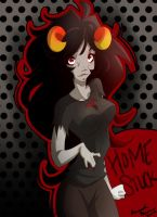 Home stuck: Aradia by Free-man12