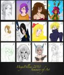 2013 Summary of Art by MegaPollen
