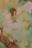 Lily of the valley fairy by Henu96