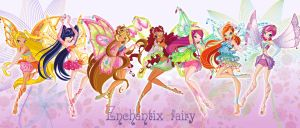 Winx club enchantix by Forgotten-By-Gods