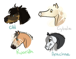 CW | Headshot Requests 1 by Paper-Wings-Ranch