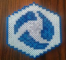 Heroes of the Storm Perler Logo by chaosmuse