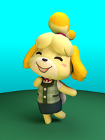 Isabelle! by PonyPikmin1998