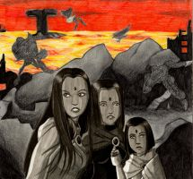 The End: The Three Ravens by saturn9calina