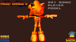 PD16 Sonic Model Concept by ZentrixStudios