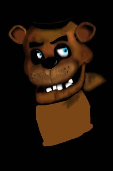 W.I.P (PART 2)  Freddy Fazbear! by Cheesecake2002