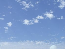 Puffy Clouds 5 by dtf-stock