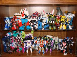 My Transformers Display Case by Air-Hammer