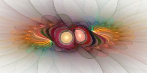 'Light Flame Abstract 109' by SBricker
