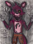 Five Nights at Freddy's Foxy the Pirate by MidnaCookies1425