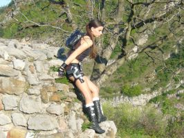 Tomb Raider Cosplay Underworld Shorts by DayanaCroft
