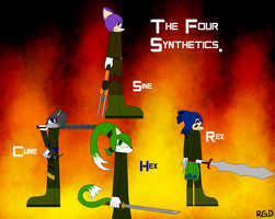 The Four Synthetics by ROBLOXgeneralduncan