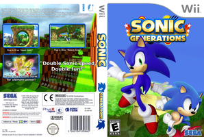 Sonic Generations Wii cover by vyndo