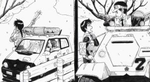 Patlabor+You're under Arrest by sharingandevil