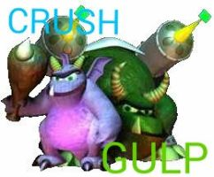 Crush And Gulp Bad Guys from Original Spyro by nyro1