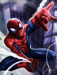 Spidey man by Kam-Fox