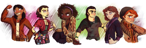 we were OCs before it was cool by hanNimble