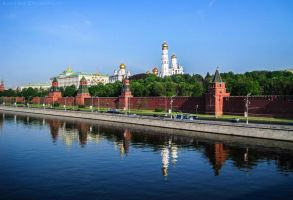 Another Moscow Day by Laerian